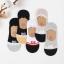 P007**พร้อมส่ง** (ปลีก+ส่ง) ถุงเท้าซ่อน ไร้ขอบ ลวดลาย ไซส์ชาย มีซิลิโคนกันหลุด 12 คู่ต่อแพ็ค เนื้อดี งานนำเข้า(Made in China) thumbnail 1