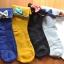 S402**พร้อมส่ง** (ปลีก+ส่ง) ถุงเท้าแฟชั่นเกาหลี พับข้อติดโบว์ มี 10 คู่ต่อแพ็ค คละ 5 สี เนื้อดี งานนำเข้า(Made in China) thumbnail 1