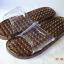K021-BK**พร้อมส่ง** (ปลีก+ส่ง) รองเท้านวดสปา เพื่อสุขภาพ สีดำ ปุ่มเล็ก(ใส)แบบนิ่ม ส่งคู่ละ 120 บ. thumbnail 2