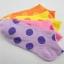 S346 **พร้อมส่ง** (ปลีก+ส่ง) ถุงเท้าแฟชั่นเกาหลี ข้อสั้น คละ 5 สี มี 12 คู่/แพ็ค เนื้อดี งานนำเข้า(Made in China) thumbnail 2