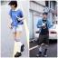 S405 **พร้อมส่ง** (ปลีก+ส่ง) ถุงเท้า กีฬา แฟชั่นหญิง+ชาย ข้อยาว พื้นล่างเป็นขนหนูดูดซับเหงื่อได้ดี คละ 6 สี เนื้อดี งานนำเข้า มี 12 คู่ต่อแพ็ค thumbnail 1