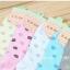 S597 **พร้อมส่ง** (ปลีก+ส่ง) ถุงเท้าแฟชั่น ข้อตาตุ่ม คละ 5 สี เนื้อดี งานนำเข้า มี 10 คู่ต่อแพ็ค thumbnail 1