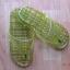 K013-DGR **พร้อมส่ง** (ปลีก+ส่ง) รองเท้านวดสปา เพื่อสุขภาพ ปุ่มเล็ก (ใส) หูหนีบ สีเขียวขี้ม้า ส่งคู่ละ 80 บ. thumbnail 6