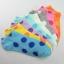 S346 **พร้อมส่ง** (ปลีก+ส่ง) ถุงเท้าแฟชั่นเกาหลี ข้อสั้น คละ 5 สี มี 12 คู่/แพ็ค เนื้อดี งานนำเข้า(Made in China) thumbnail 1