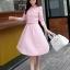 เสื้อผ้าแฟชั่น set เสื้อ และกระโปรงสีชมพูสวยมากๆ thumbnail 3