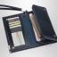 Pre-order กระเป๋าสตางค์ใบยาว ใส่โทรศัพท์ ลายสานผู้ชายแฟขั่นเกาหลี รหัส Man-QBA017 สีน้ำตาลเข้ม thumbnail 2