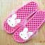 K011-DPK **พร้อมส่ง** (ปลีก+ส่ง) รองเท้านวดสปา เพื่อสุขภาพ ปุ่มเล็ก ลายกระต่าย สีชมพู thumbnail 2