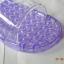 K021-PU**พร้อมส่ง** (ปลีก+ส่ง) รองเท้านวดสปา เพื่อสุขภาพ สีม่วง ปุ่มเล็ก(ใส)แบบนิ่ม ส่งคู่ละ 120 บ. thumbnail 7