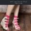 A046**พร้อมส่ง** (ปลีก+ส่ง)ถุงเท้าแฟชั่นเกาหลี ข้อยาว มี 10 สี เนื้อดี งานนำเข้า(Made in Korea) thumbnail 5