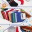 S356**พร้อมส่ง** (ปลีก+ส่ง) ถุงเท้าแฟชั่นเกาหลี ข้อสั้น ชาย คละ 5 สี มี 10 คู่ต่อแพ็ค เนื้อดี งานนำเข้า(Made in China) thumbnail 3