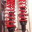 (Wave)โช้คอัพหลังคู่ YSS รุ่น DTG (ไฮบริด) สำหรับ Honda Wave 110 i สี ดำ/แดง