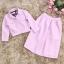เสื้อผ้าแฟชั่น set เสื้อ และกระโปรงสีชมพูสวยมากๆ thumbnail 9