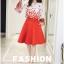 เสื้อผ้าแฟชั่นเกาหลี set 2 ชิ้น เสื้อและกระโปรงสวยมากๆ thumbnail 8
