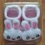 U011-3**พร้อมส่ง** (ปลีก+ส่ง) ถุงเท้าเด็ก(แรกเกิด-1 ปี) พับข้อ ติดหัวตุ๊กตา มีกันลื่น เนื้อดี งานนำเข้า ( Made in China) thumbnail 12
