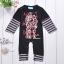 พร้อมส่ง เสื้อผ้าเด็กทารก 0-1 ปี ราคาส่งจากโรงงาน ใช้ได้ทั้งเด็กหญิงเด็กชาย Romperชุดหมี แขน-ขายาว รหัส D092 สีดำลายหุ่นยนต์ ไซร์ 70 (ส่วนสูง 59-66cm ) thumbnail 2