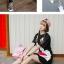 S523**พร้อมส่ง** (ปลีก+ส่ง) ถุงเท้าข้อยาว แฟชั่นเกาหลี คละสี มี 12 คู่ต่อแพ็ค เนื้อดี งานนำเข้า(Made in China) thumbnail 12