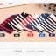 S339**พร้อมส่ง** (ปลีก+ส่ง) ถุงเท้าแฟชั่นเกาหลี ข้อยาว คละ 5 สี มี 10 คู่/แพ็ค เนื้อดี งานนำเข้า(Made in China) thumbnail 4