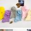 S523**พร้อมส่ง** (ปลีก+ส่ง) ถุงเท้าข้อยาว แฟชั่นเกาหลี คละสี มี 12 คู่ต่อแพ็ค เนื้อดี งานนำเข้า(Made in China) thumbnail 9
