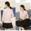 แฟชั่นเกาหลี set เสื้อ และกระโปรงดีไซน์สวยมากๆ thumbnail 7