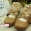 [พิเศษ 2 คู่ 150 ] ถุงเท้าขอบลูกไม้สไตล์วินเทจ มี 10 สี thumbnail 1
