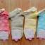 S189 **พร้อมส่ง** (ปลีก+ส่ง) ถุงเท้าแฟชั่นเกาหลี ข้อสั้น ขอบลูกไม้ เนื้อดี งานนำเข้า(Made in china) thumbnail 2