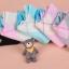 S344 **พร้อมส่ง** (ปลีก+ส่ง) ถุงเท้าแฟชั่นเกาหลี ข้อสั้น คละ 5 สี มี 12 คู่/แพ็ค เนื้อดี งานนำเข้า(Made in China) thumbnail 3