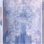 ชุดราตรียาว คอจีน แขนยาวสามส่วน ตัวเสื้อด้านนอกสุดเป็นผ้าโปร่งสีฟ้า ซับในชั้นแรกด้วยผ้าลูกไม้สีขาว thumbnail 5