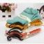 S341 **พร้อมส่ง** (ปลีก+ส่ง) ถุงเท้าแฟชั่นเกาหลี ข้อยาว คละ 5 สี มี 10 คู่/แพ็ค เนื้อดี งานนำเข้า(Made in China) thumbnail 5