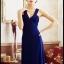 ชุดเดรสยาวออกงาน ชุดเดรสยาว สีน้ำเงิน คอวี โชว์ไหล่ สวยมากๆ ซื้อเป็นของขวัญ ของฝาก ให้แฟนเหมาะมากๆ ครับ New!! (พร้อมส่ง) thumbnail 3