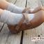 [พิเศษ 2 คู่ 100 ] ถุงเท้าลายจุดพับข้อสไตล์ญี่ปุ่น thumbnail 7
