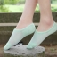 P003**พร้อมส่ง** (ปลีก+ส่ง) ถุงเท้าซ่อน ข้อเว้า มีรูระบายอากาศ ไซส์หญิง คละสี มีซิลิโคนกันหลุด 12 คู่ต่อแพ็ค เนื้อดี งานนำเข้า(Made in China) thumbnail 4