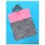 กระเป๋าผ้าTote bag สีชมพู + ลายดอกไม้บนพื้นสีกรมท่า thumbnail 2