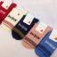 S610**พร้อมส่ง** (ปลีก+ส่ง) ถุงเท้าแฟชั่น เกาหลี ข้อยาว คละ 5 สี 10 คู่ต่อแพ็ค เนื้อดี งานนำเข้า(Made in China) thumbnail 1