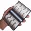 กระเป๋าพาสปอรต์หนังงู และ ปลากระเบน มีช่องให้ใส่ พาสปอรต์หรือบัตรสำคัญต่างๆ ได้หลายช่อง thumbnail 2