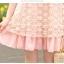 ชุดเดรสสั้น ชุดเดรส Brand YOCO พร้อมส่ง นำเข้าของแท้ 100% ชุดเดรสผ้าชีฟอง+ลูกไม้อย่างดี สีชมพูหวานๆ น่ารัก thumbnail 9