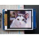 """1.8"""" Color TFT LCD Display with MicroSD Card Breakout (Adafruit)"""