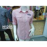 H1205 เสื้อเชิ้ตหญิงลายแฟนซี