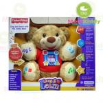 ตุ๊กตาหมี Fisher price Laugh and Learn Teddy มีเสียงสอนการเรียนรู้
