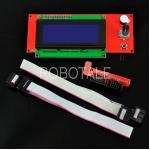 Full Graphic Smart Controller + Smart Adapter for RAMPS 1.4 (2004 LCD + Connectors)