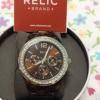 นาฬิกา RELIC สายเหล็กสีน้ำตาล