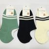 S618 **พร้อมส่ง** (ปลีก+ส่ง) ถุงเท้า ข้อกุด มี 5 สี , 10 คู่ต่อแพ็ค เนื้อดี งานนำเข้า (Made in China)