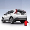 Honda CRV G4 ไฟเบรก LED ในกันชนหลัง ใส่แทนช่องทับทิมสะท้อนแสงเดิม