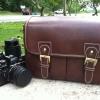 กระเป๋ากล้อง KR01 Brown leather (M)