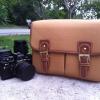 กระเป๋ากล้อง KR01 yellow canvas (M)
