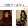 SUM - Tae yeon A4 Photo แบบ B