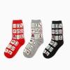 S497**พร้อมส่ง** (ปลีก+ส่ง) ถุงเท้าแฟชั่นเกาหลี ข้อยาว เนื้อดี งานนำเข้า(Made in china)