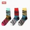 S424**พร้อมส่ง** (ปลีก+ส่ง) ถุงเท้าแฟชั่นเกาหลี ข้อยาว คละ 3 สี มี 12 คู่ต่อแพ็ค เนื้อดี งานนำเข้า