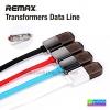 สายชาร์จ 2 in 1 Remax Transformers แท้ 100% Micro USB/iPhone 5/6 ราคา 88 บาท ปกติ 420 บาท