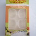 Baby cubes กล่องบรรจุอาหารแช่แข็ง ขนาด 2oz