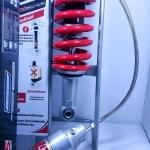 (NSR 150 ProArm)โช้คอัพหลังเดี่ยว YSS รุ่น MO-302 สำหรับ Honda NSR-PRO ARM สี ดำ/แดง/เงิน